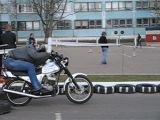 я обласные соревнования 2012 год фигурное водление мотоцикла!!!  1 место Боровой Алексей